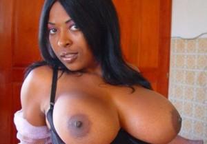 black girl mit riesen titten